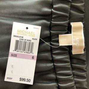 MICHAEL Michael Kors Pants - 🌸NWT MICHAEL Michael Kors Faux-Leather Leggings